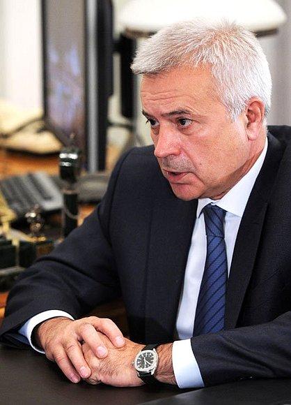 ヴァギト・ユスフォヴィチ・アレクペロフ