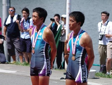 筑波大 2012 インカレM2X O智兄弟