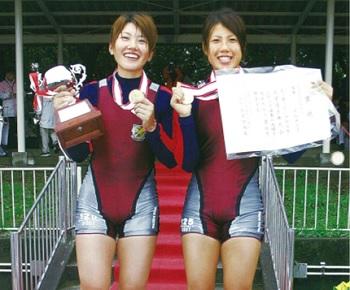 早稲田 2005 インカレW2X