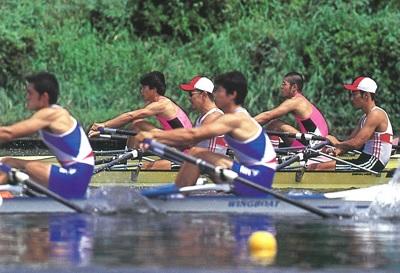 日体大 1998年インカレM2X決勝