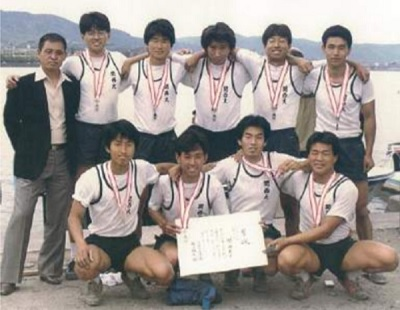 関西大 1984年朝日レガッタ準優勝