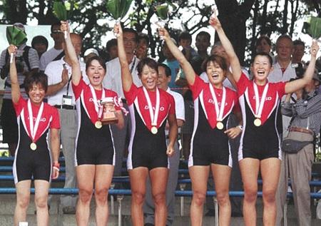 デンソー 2010全日本W4X+初優勝