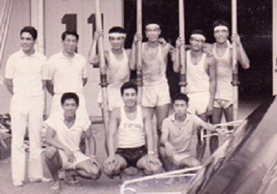 東レ滋賀 1967全日本M4+初優勝
