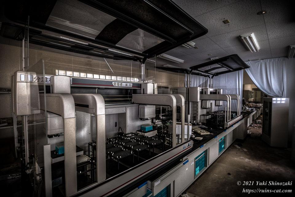 シゲタ動物薬品工業(バイオハザード研究所) 2階製造室