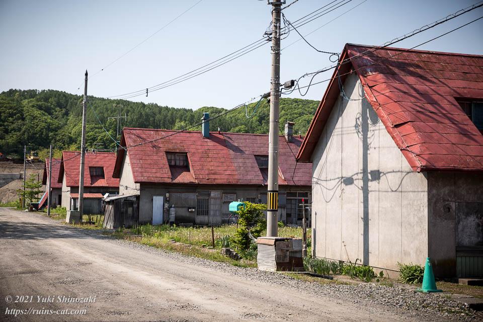 弥生柳町の炭鉱住宅群