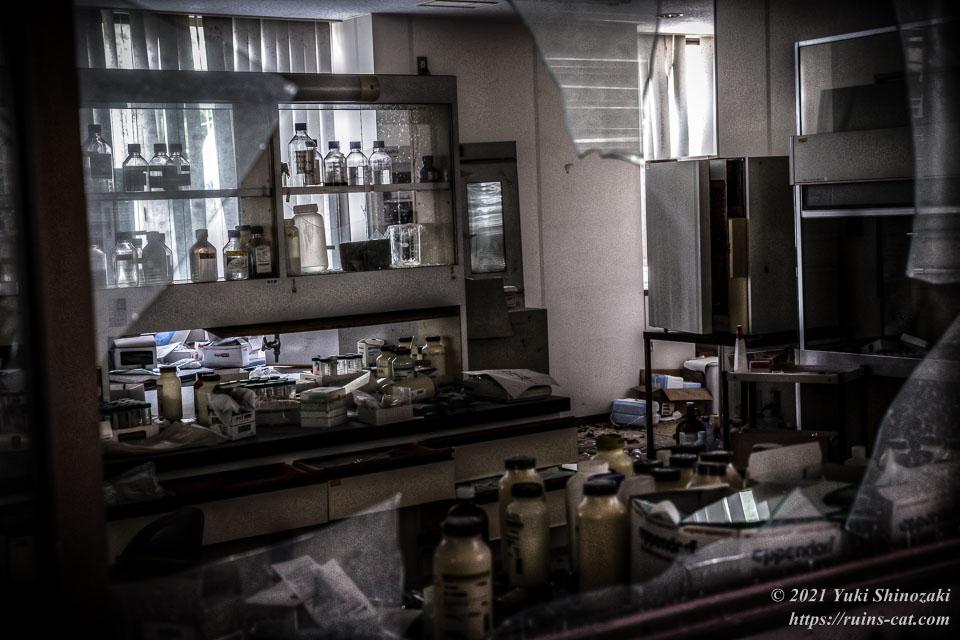 シゲタ動物薬品工業(バイオハザード研究所) 1階開発室