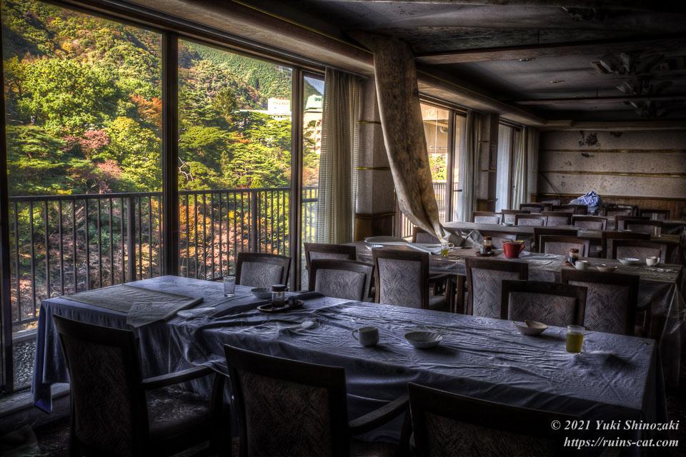 鬼怒川第一ホテルの食堂
