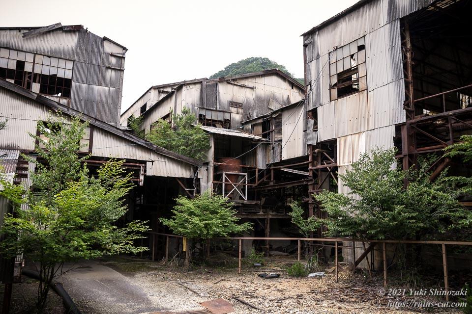 足尾銅山選鉱場 外観