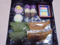 ブログ9お菓子