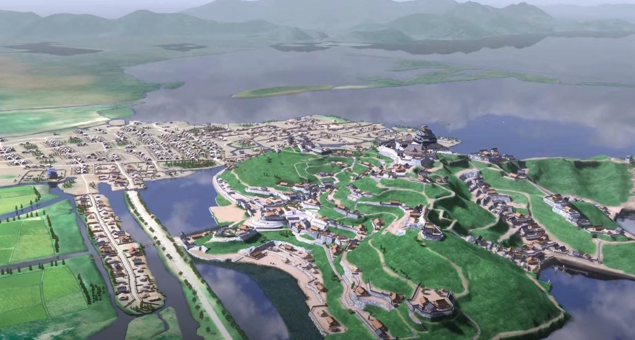 安土城復元図2