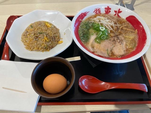 徳島背脂醤油ラーメン炒飯セット202105