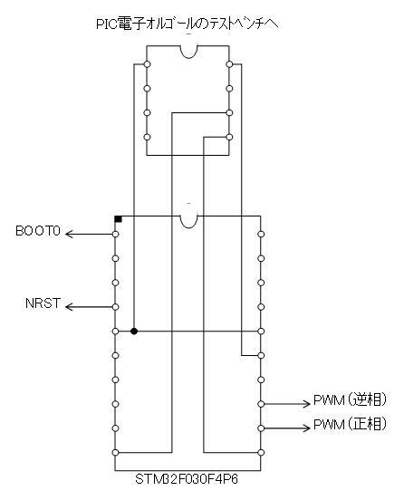 STM32電子オルゴール回路図テストベンチ
