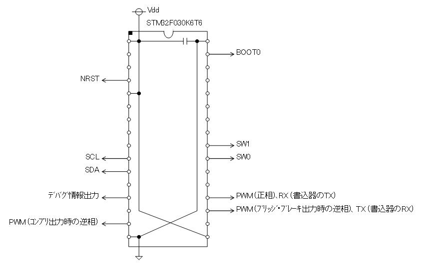 STM32電子オルゴール回路図K6T6I2Cメモリ