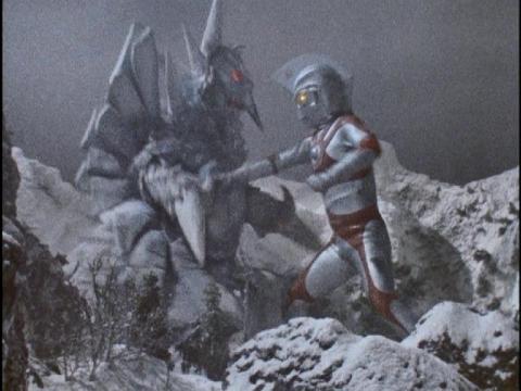 『ウルトラマンA』 第42話 「冬の怪奇シリーズ  神秘! 怪獣ウーの復活」