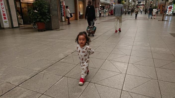 202105愛娘ちゃん初めての大街道散歩 (1)