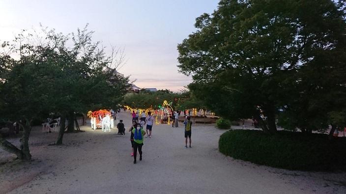 202107光のおもてなし㏌松山城2021 (23)