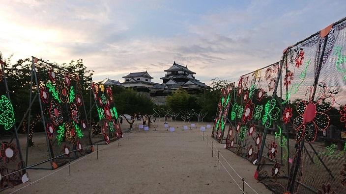 202107光のおもてなし㏌松山城2021 (24)