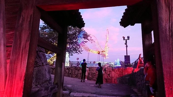 202107光のおもてなし㏌松山城2021 (25)