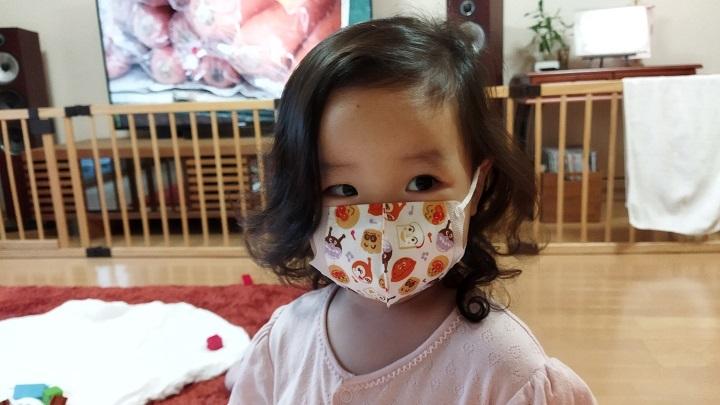 202110愛娘初マスク