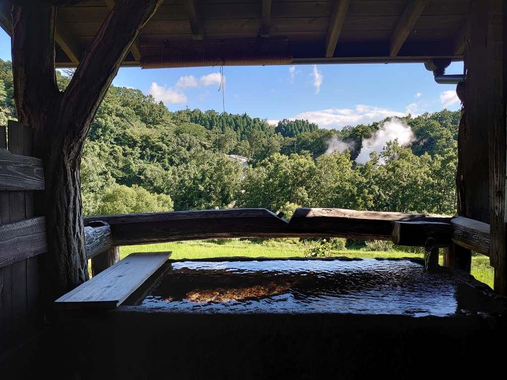 熊本県☆はげの湯のおこもり宿「たけの蔵」露天から眺める棚田の絶景!自然と地獄蒸し料理を満喫